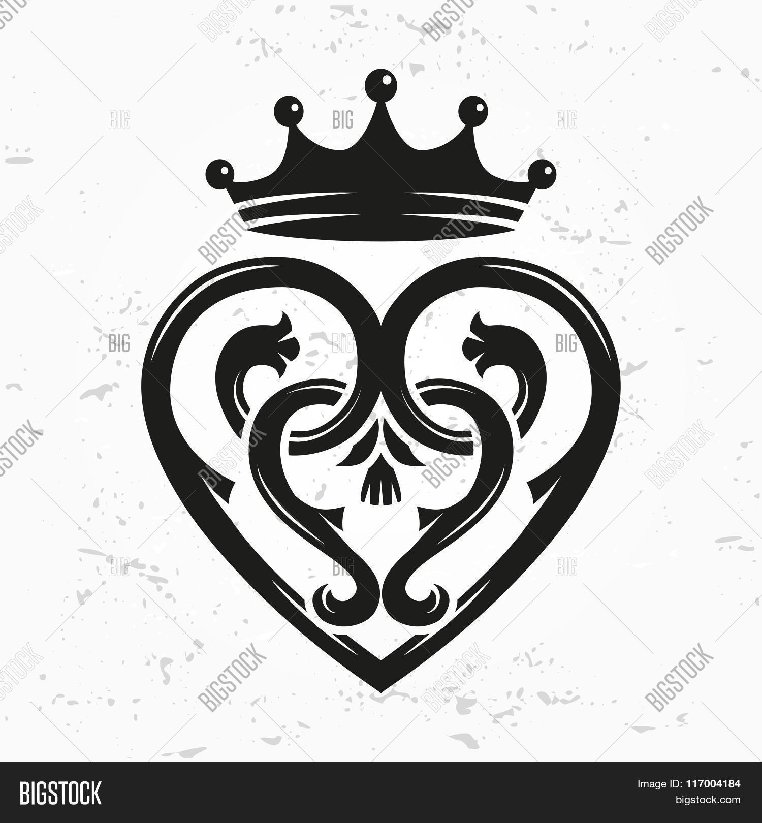 Luckenbooth Brooch Vector Photo Free Trial Bigstock