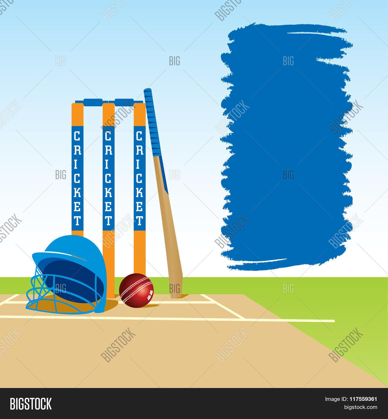 Creative Cricket Banner Design