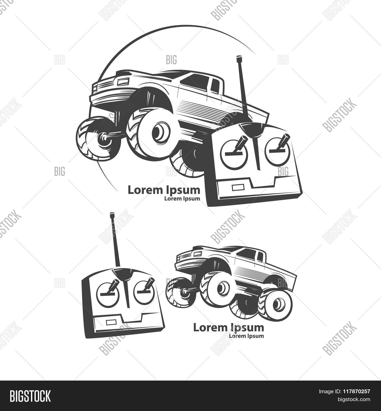 Rc Car Logo Vector & Photo (Free Trial) | Bigstock