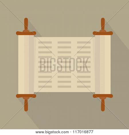 Torah Flat  Icon