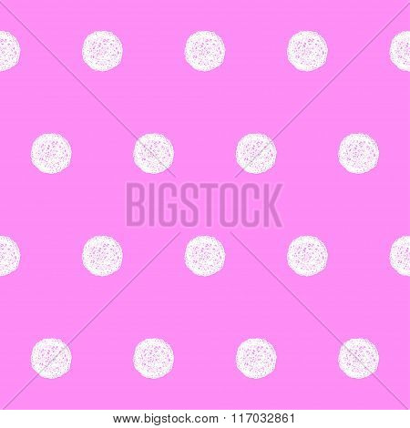 Doodle Seamless Pattern Background. Hand Drawn Simple Graphic Elements
