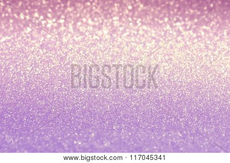 Blurred Pink Shiny Background. Valentine's Day And Mother's Day Background. Soft Focus