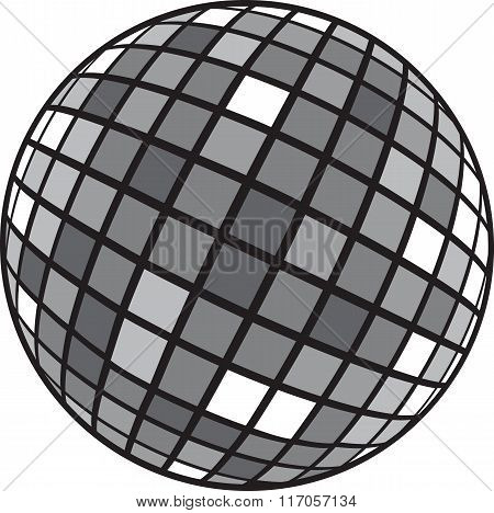 Disco Club Mirror Ball (glitter Ball).