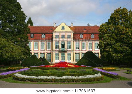 The Abbots' Palace in Oliwa
