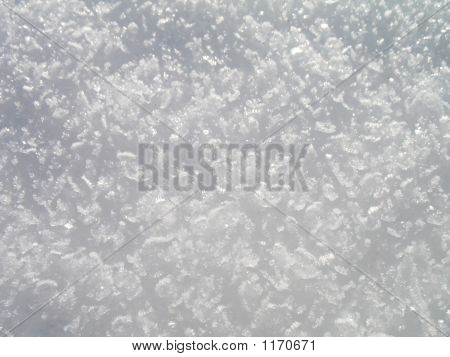 Ice Crystals Texture