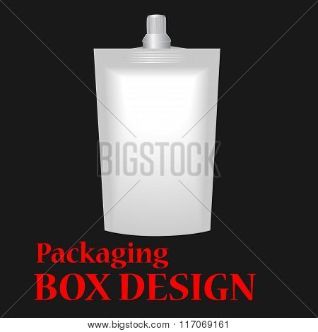 White Blank Doy-pack