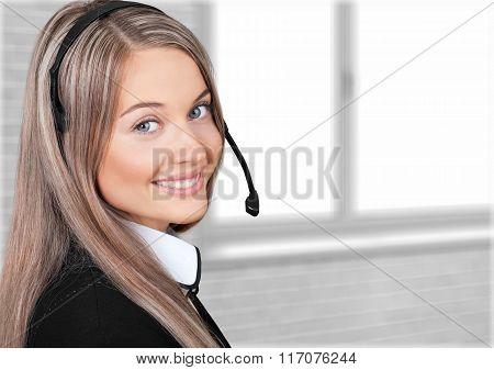 Service Woman.