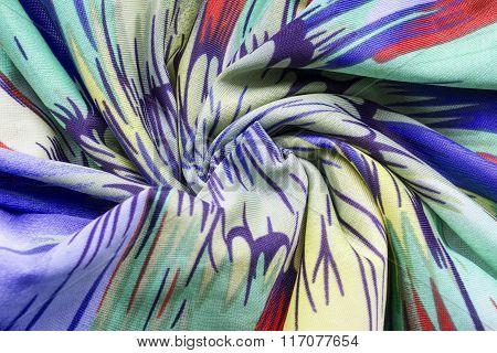 Draped Silk Background
