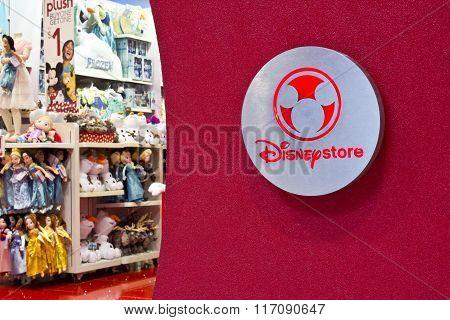 Indianapolis - Circa February 2016: Disney Store Retail Mall Location II