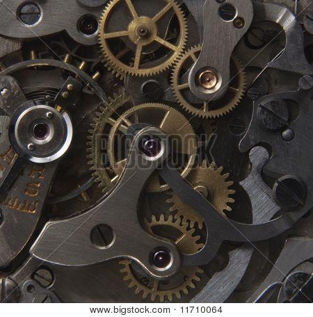 Antique Wristwatch Mechanism