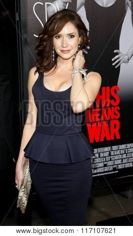 Ashley Jones at the Los Angles Premiere of