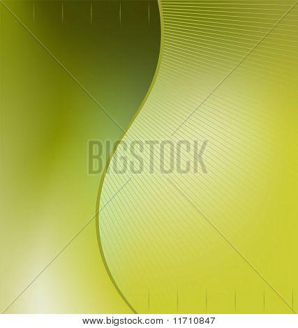 Illustration The Green Abstract Background For Design Bussines Card And Invitation Company Style