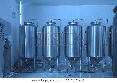 Grape Winery Metal Fermentation Barrel