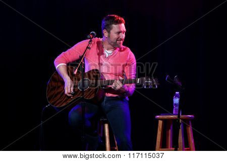 PATCHOGUE, NY-FEB 3: Musician Craig Morgan performs onstage at The Emporium on February 3, 2016 in Patchogue, New York.