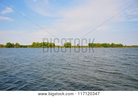 View From The Edge Of The Danube Delta