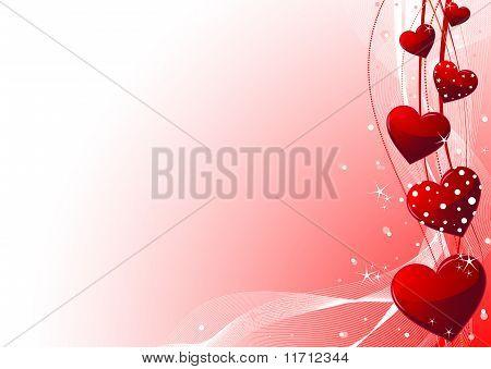 Valentine Tag Hintergrund