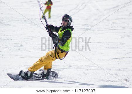 World Snowkite Contest Altosangro 2016