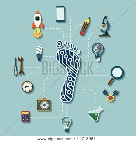 Diagram Technological Progress