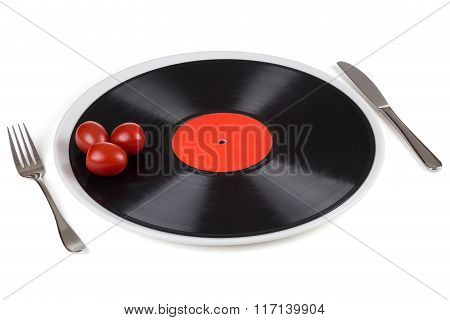 Musical Plate On A Plate