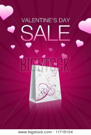 Valentinstag-Verkauf