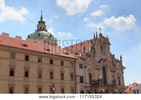 St. Nicholas Church In Mala Strana (lesser Town), Prague