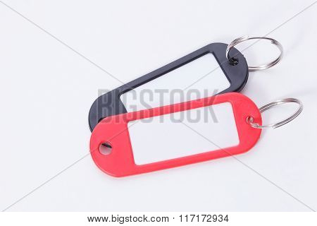 Colorful Two Key Fob