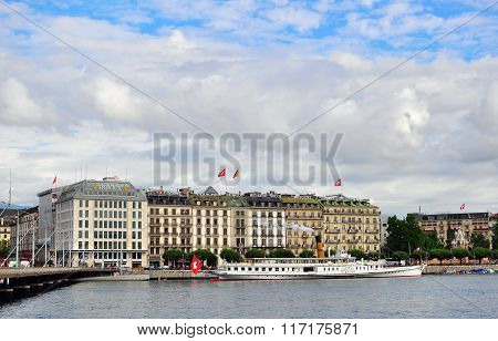 Geneva City, Switzerland
