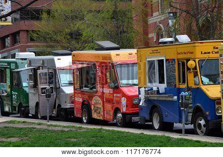 Food trucks - Washington