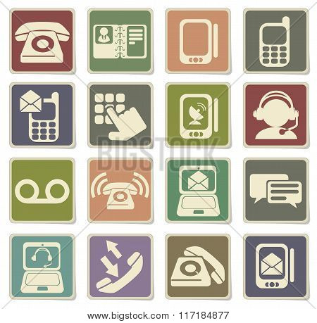 Telephone Icons icons