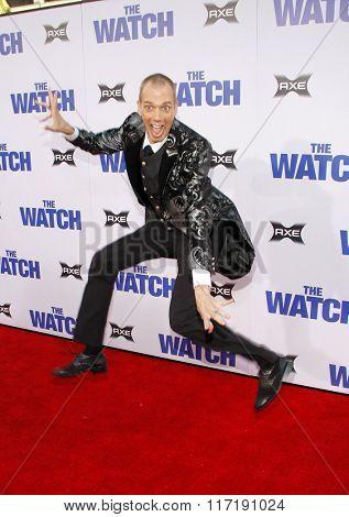 Doug Jones at the Los Angeles premiere of
