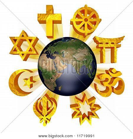 earth religious symbols