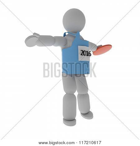 Discus Throw Athlete