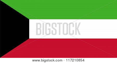 Standard Proportions For Kuwait Flag