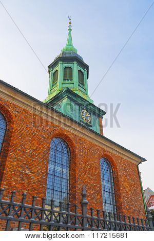 Garrison Church In Copenhagen