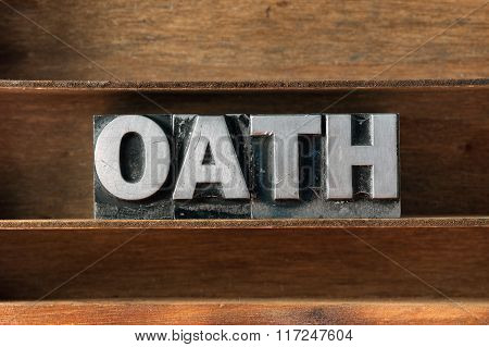 Oath Word Tray
