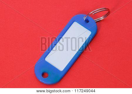 Close Up Of A Blue Key Fob