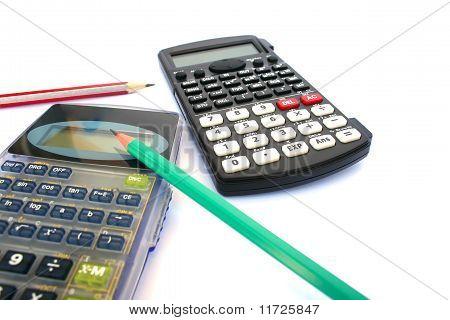 Calculators And Pencils