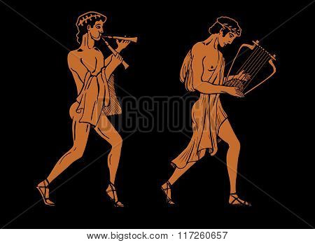 Ancient Greek Musicians.