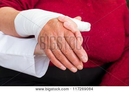 Bandaged Thumb