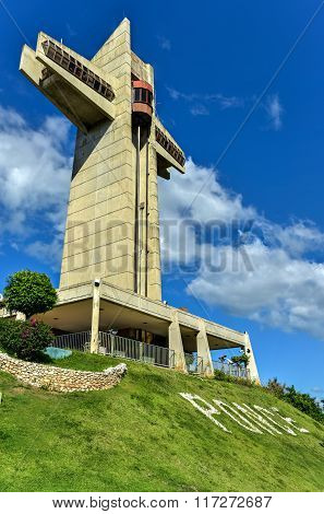 Watchman Cross In Ponce, Puerto Rico