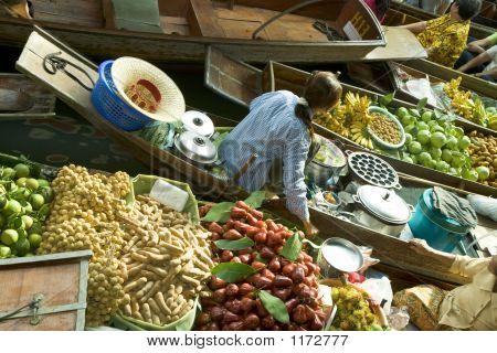 Thai Floating Market