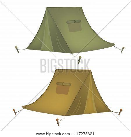 Tourist Tents.