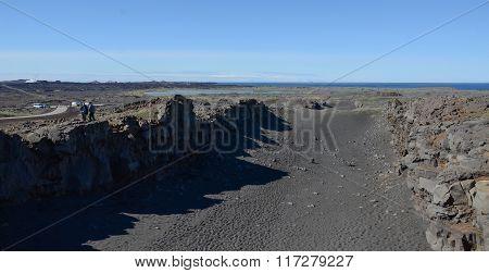 Bridge Between Continents Iceland