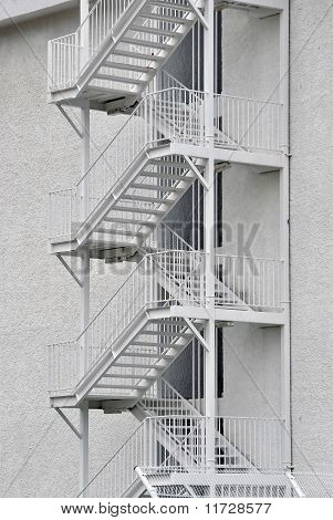 external security stairs
