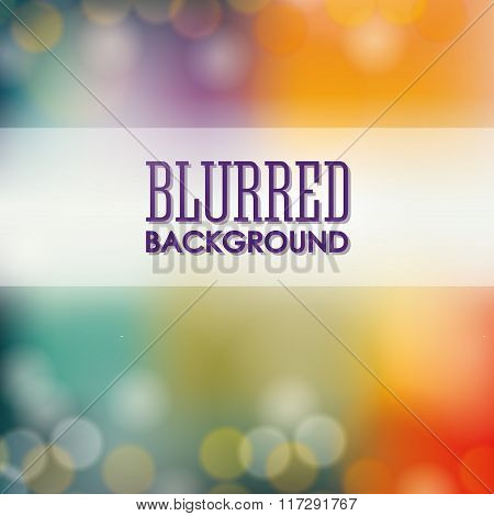 Blurre background graphic