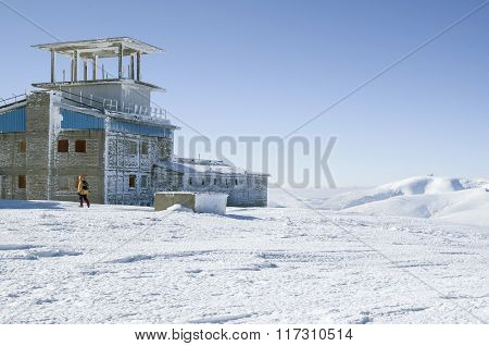 Abandoned Military Base On Mount Golyam Kademlya, Bulgaria