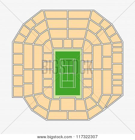 Wimbledon Centre Court Plan