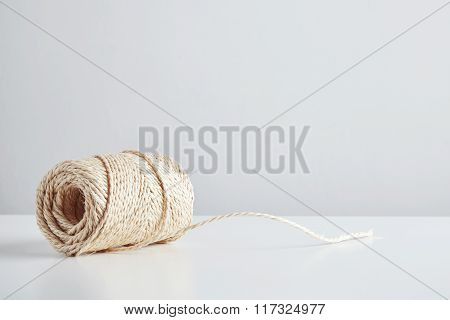 Hasp Of Craft Rope Isolated In Side