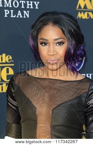 LOS ANGELES - FEB 5:  Ariane Andrew at the 24th Annual MovieGuide Awards at the Universal Hilton Hotel on February 5, 2016 in Los Angeles, CA
