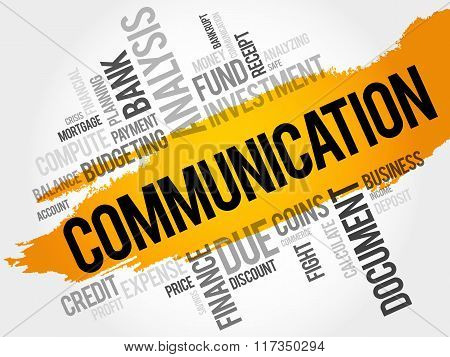 Communication Word Cloud